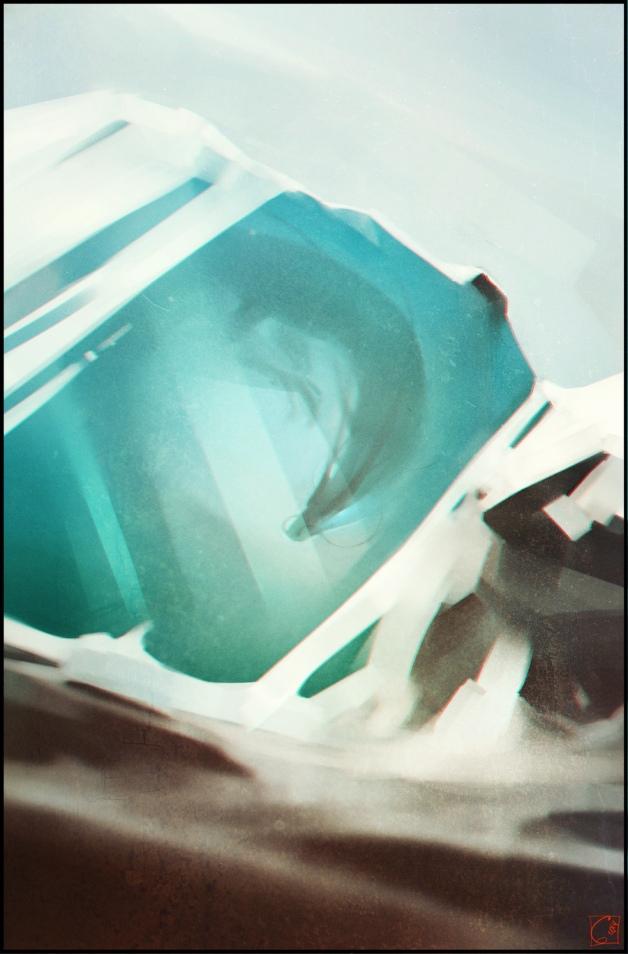 Ice dragon by GaudiBuendia