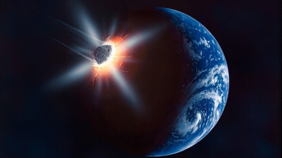 biggest asteroid ever to hit earth - photo #44