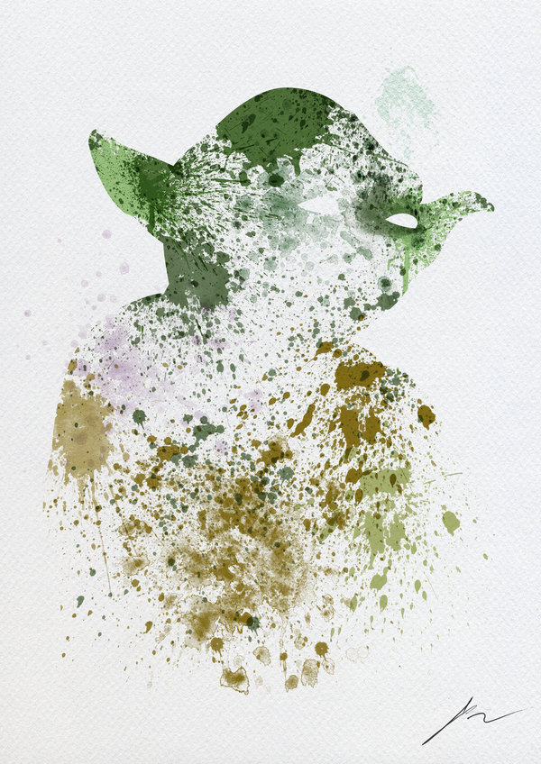 Yoda by PhantomxLord