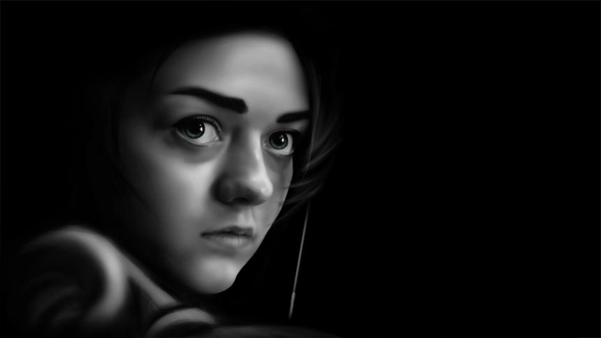 Arya Stark by idadsr